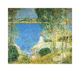 The Bather, 1904 Giclée-Premiumdruck von Frederick Childe Hassam