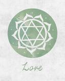 Chakra - Love Poster par Sasha Blake