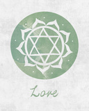 Chakra - Love Poster af Sasha Blake