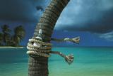 Island Breeze Giclee Print by Chris Simpson