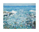 Surf, Isles of Shoals, 1913 Premium Giclee Print by Frederick Childe Hassam