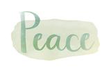 Contemplation - Peace Plakater af Sasha Blake