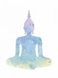 Sukhasana - Enlighten Affiches par Sasha Blake