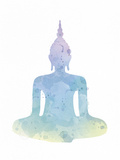Sukhasana - Enlighten Prints by Sasha Blake