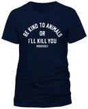 Morrissey- Be Kind - or Else T-shirts