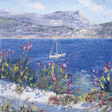Villefranche Bay Giclee Print by Tania Forgione
