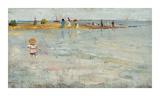 Rickett's Point, Beaumaris, Sandringham Giclée-Premiumdruck von Charles Conder