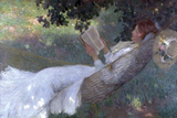 A Love Story, 1903 Giclee Print by Emanuel Phillips Fox