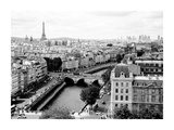 View of Paris and Seine river Posters by Vadim Ratsenskiy