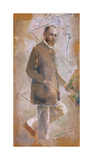 An Impressionist (Tom Roberts) Premium Giclee Print by Charles Conder