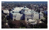 Thomas Jefferson Building from the U.S. Capitol dome, Washington, D.C. - Vintage Tint Prints by Carol Highsmith