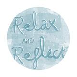 Mantra - Relax Affiches par Sasha Blake