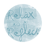 Mantra - Relax Prints by Sasha Blake