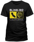 Blink 182- California Logo Stamp T-Shirt