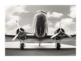 Vintage DC-3 in air field Prints by  Anonymous