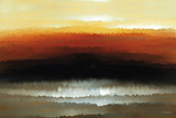 Sunset Blaze Giclee Print by Mark Lawrence