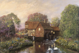 The Old Watermill Giclee Print by Alexander Sheridan