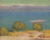 Vue d' Antibes Giclée-tryk af John Peter Russell