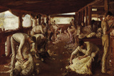 The Golden Fleece Giclee Print by Tom Roberts