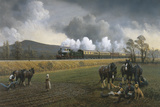 Great Western Near South Brent, 1913 Giclee Print by Gerald Broom