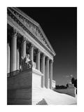 U.S. Supreme Court building, Washington, D.C. - B&W Posters by Carol Highsmith