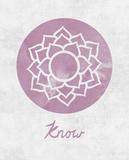 Chakra - Know Affiches par Sasha Blake