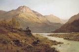 Morning, Inverness-Shire Giclée-tryk af Alfred De Breanski