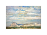 Harney Desert No.20 Premium Giclee Print by Frederick Childe Hassam