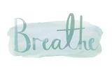 Contemplation - Breathe Posters af Sasha Blake