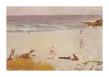 Bronte Beach Premium Giclee Print by Charles Conder