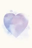 Mindfulness - Heart Plakater af Sasha Blake