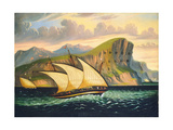 Gibraltar Premium Giclee Print by Thomas Chambers