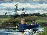 The Blue Boat, 1892 Premium Giclee Print by Winslow Homer