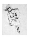 Jeannette, 1901 Premium Giclee Print by Mary Cassatt