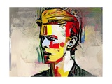 Picasso Reimagined - David Bowie Giclée-tryk af Mark Gordon