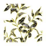 Gold Foliage, 2017 Giclee Print by Varpu Kronholm