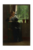 At The Window, 1872 Giclee Print by Winslow Homer