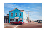 Blue House, California, 2013 Giclee Print by Georgia Peskett