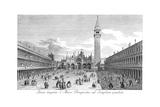 Venice: Piazza San Marco Giclée-Druck von Antonio Visentini