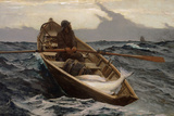 Fog Warning, 1885 Giclee Print by Winslow Homer