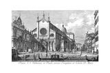 Venice: Monument, 1735 Giclée-Druck von Antonio Visentini