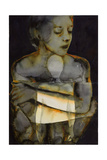 Enfold- the Dirty Yellow Series Giclee Print by Graham Dean