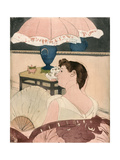 The Lamp, 1891 Giclee Print by Mary Cassatt