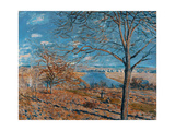 The Loing, 1881 Giclee Print by Alfred Sisley