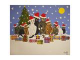 Christmas Crackers, 2016 Giclee Print by Pat Scott