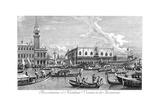 Venice: Bucintoro, 1735 Giclée-Druck von Antonio Visentini