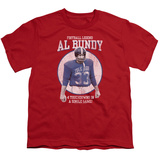 Youth: Married With Children- Al Byndy Football Legend T-shirts