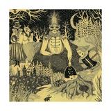 Ritual, 2012 Giclee Print by Dariya Hlazatova