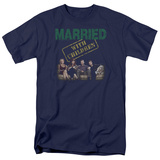 Married With Children- Vintage Bundy Couch Time T-shirts