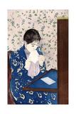 The Letter, C1890 Reproduction procédé giclée par Mary Cassatt